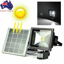 10W-20W LED Outdoor Floodlight PIR Motion Sensor Security Garden Flood Light AU
