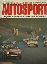 Autosport November 6th 1975 Kyalami 1000 Km's BMW CSL RS3100