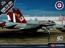 Academy 1/72 12520 USMC F/a 18a Vmfa-232 Red Devils RAAF Decals Model Kit