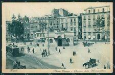 Napoli città Stazine Metropolitana Tram Carrozza cartolina VK4342