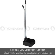Black Metal Dog Pooper Scooper Pet Puppy Poo Cleaning Waste Toilet Remove AU