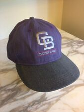 Camelback Hat Cap Purple/Blue Adjustable Strap
