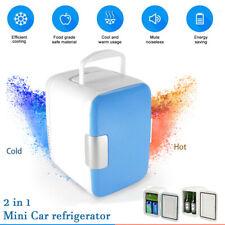 2in1 Mini Portable Auto Car Cooling & Heating Fridge Small Refrigerator Freezer