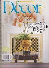 DECOR MAGAZINE SPRING/SUMMER 2012, BACK BY POPULAR DEMAND SECOND PRINTING.