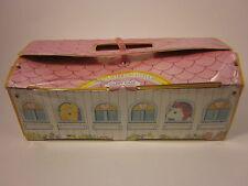 "MY LITTLE PONY G1 Carry Case Snuzzle Unicorn Vintage 6 Stalls Pink 14"" '83"