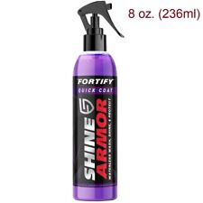 Shine Armor Fortify Quick Coat Ceramic Waterless Car Wash Polish & Sealer Spray