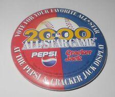 2000 Baseball Stadium Pin/Coin Braves Turner All Star Game Pepsi Cracker Jack