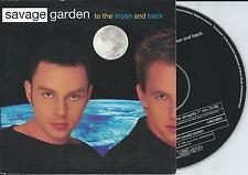 SAVAGE GARDEN - To the moon and back CD SINGLE 2TR EU CARDSLEEVE 1998