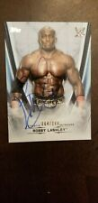 WWE Topps Trading Card Undisputed Autograph 2020 Auto Bobby Lashley Base 64/199
