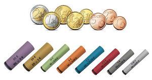 119 PAPIER-MÜNZHÜLSEN VORGEFERTIGT 1 Cent bis 2 Euro MÜNZROLLENPAPIER