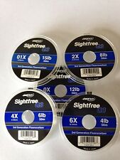 Airflo G3 Sightfree 3rd Generation (Clear) Florocarbon Fly Fishing Tippet 50m