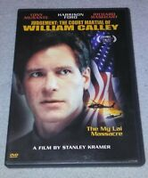 Judgement:The Court Martial of Wiliam Calley 1975(DVD,HarrisonFord RARE oop