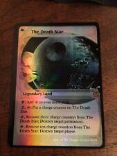 The Death Star Magic The Gathering MTG card Planeswalker Star Wars Darth Vader
