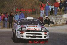 Juha Kankkunen Toyota Celica Turbo 4WD Monte Carlo Rally 1993 Photograph 1
