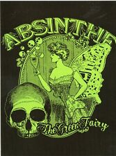 "POSTCARD ADVERTISEMENT ABSINTHE DRINK ""THE GREEN FERRY"" THIS IS A REPRODUCTION"