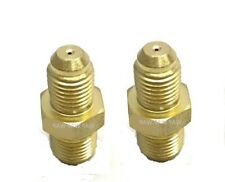 2pc-Copper Turbo Oil Feed Restrictor Fitting Inlet for GT35, T25, T28, T3, T4,T6