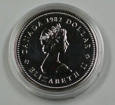 1982 Canada Dollar Proof Coin With Royal Canadian Mint Case