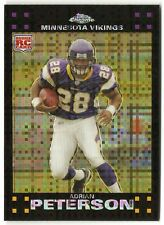 2007 Topps Chrome Adrian Peterson Xfractor Card #TC181   P1027