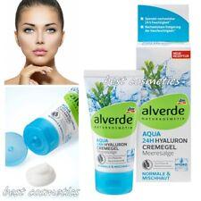 Аlverde Natural Cosmetics Day Cream Aqua 24h Hyaluron Hydro Cream Gel Seaweed