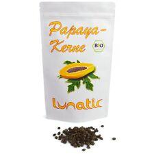 100g Bio Papaya-Kerne | Papaya-Samen | Papaya Pfeffer - zertifizierte Rohkost