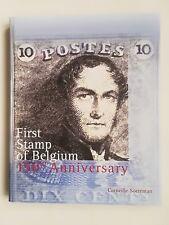 livre philatélie belge Belgique 150ème anniversaire 1er timbre Soeteman 1999 TBE