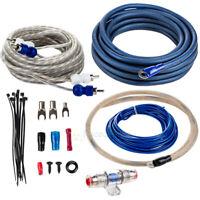 True 4 Gauge Amp Kit 4 AWG Complete Amplifier Installation Kit Stereo Install