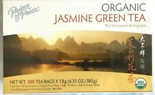Prince of Peace 100% Organic Jasmine Green Tea 6.35 Oz/180g - 100 Tea Bags