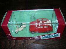 VITESSE 501 - FIAT 500 + PIAGGIO VESPA 50 scala 1/43
