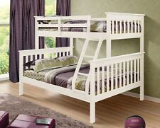 Wooden Bunk Beds - Twin over Full