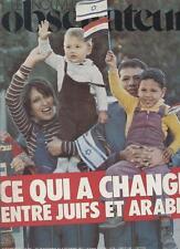 Le Nouvel Observateur   N°681   28 Novembre Au 4 Decembre 1977: Ce qui a changé