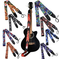 King Long Fancy Guitar Bass Straps Cool Dragon Pattern 90-155cm Adjustable Strap