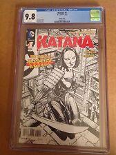 CGC 9.8 Katana #1 Sketch Cover Variant Suicide Squad