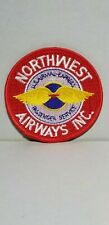 NORTHWEST AIRWAYS REPRODUCTION PATCH