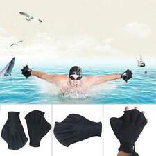 Schwimmhandschuhe Finger Schwimmhäute Schwimmflossen Handpaddels Trainingsmittel