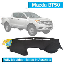 Mazda BT50 (2012-Current) - Dash Mat - Black - Fully Moulded - XT XTR GT BT 50