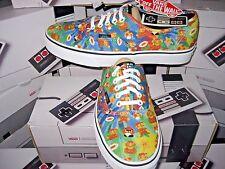 Vans Authentic Womens X Nintendo Super Mario Bros Canvas Skate shoes Size 6 NWT