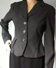 INES Womens Tailored Jacket UK Size 10 Brand New With Tags Grey RRP £90