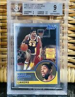 2000 Magic Johnson TOPPS CHROME Cards That Never Were #MJ1 BGS 9 w/ 9.5 subs PSA