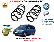 Per MERCEDES W639 Viano + Vito 2003-2010 NUOVO 2 X Anteriore Molle a Spirale Set