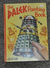 dalek painting book 1960s very rare