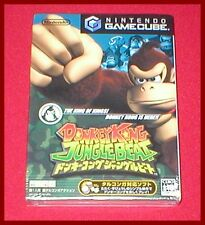 Donkey Kong Jungle Beat for the Japan Import Gamecube System NEW SEALED