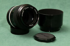 Nikon Nikkor 105mm f/2.5 Ai (Excellent++ condition, ships from USA) w/ HS-8 Hood