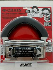 Crain 246 Carpet Wall Trimmer With Blades  New!!