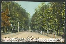 Apeldoorn  Loolaan 1907 Verzonden naar Chili met o.a. stempel Paris
