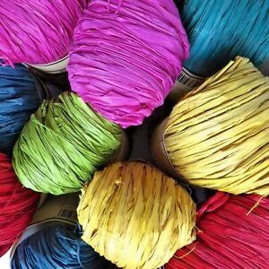 Raffia Yarn for Crafting - Natural & Eco Friendly