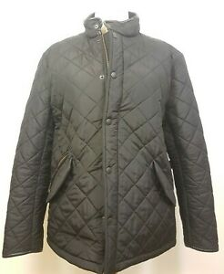 Barbour Ladies Quilted Black Jacket Size XL