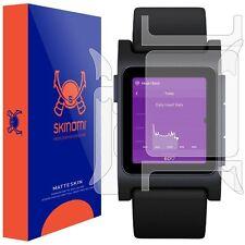 Skinomi (MATTE) FULL BODY Watch Skin+Screen Protector for Pebble 2 Smartwatch