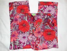 Vera Bradley COZY FLANNEL PAJAMA PANTS in BOHEMIAN BLOOMS Medium 8-10 15348-675M