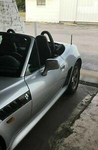 "6 3/4"" Short Black Antenna Mast Power Radio AM/FM for BMW Z3 1996-2002 Brand New"