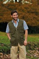 Walker and Hawkes - Mens Dale Multi-Pocket Country Gilet Bodywarmer